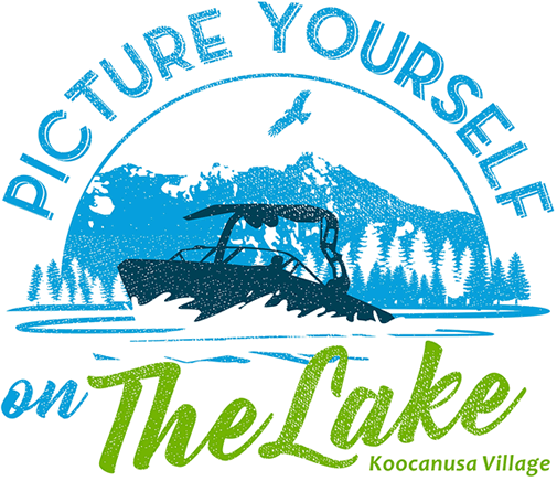 Picture yourself on the lake