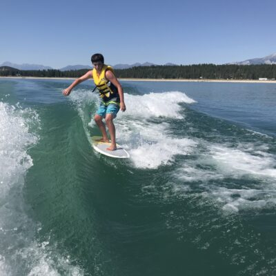 Wakesurf the Koocanusa
